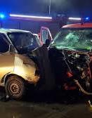 Eight Ukrainians injured in road accident near Krakow