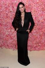 Demi Moore defies the Met Gala's camp theme in simply elegan