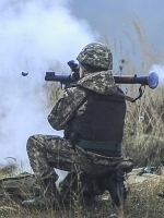Russian-led forces violate ceasefire 16 times in Donbas