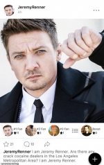 Jeremy Renner shuts down his fan app after two years over trolls posing