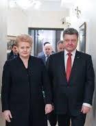 Poroshenko, Grybauskaite sign Road Map for 2019-2020
