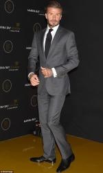 David Beckham looks very dapper in sleek suit at Marina Bay Sands bash in Tokyo...