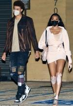 Winnie Harlow has legs for days as she and dashing NBA boyfriend Kyle Kuzma