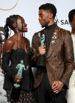 Lupita Nyong'o is still struggling to come to terms with loss of friend and Black Panther