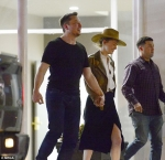 Amber Heard and Elon Musk hold hands on romantic dinner date after Tesla
