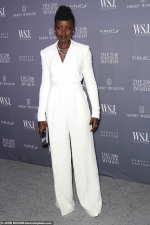 Lupita Nyong'o stuns in an all-white ensemble at the WSJ. Magazine