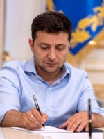 Ukrainian president signs law on e-communications