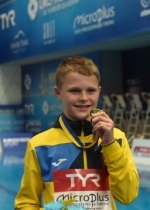 13-year-old Ukrainian wins gold at European Diving Championships