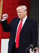 Trump officially became president of the United States