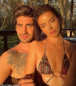 Maura Higgins is joined by Love Island pal Lucie Donlan as they wear matching black outfits