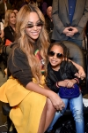 Beyonce's mini-me daughter Blue Ivy, six, steals the spotlight as the pair snap