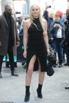 Lindsey Vonn dons slinky black gown in NYC... after revealing that she