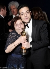 Inside the Vanity Fair Oscars bash: Best Actor Rami Malek brings along his mother, Best Actress Olivia Colman won't