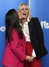 America Ferrera kisses her former Ugly Betty castmate Judith Light