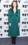 Julianne Moore turns heads wearing emerald green to screen her