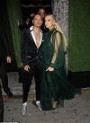 Ashlee Simpson and husband Evan Ross make bold fashion statements