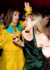 Miley Cyrus parties in the U.S.A. as the songstress dances up a storm in her eighties-inspired glam rock