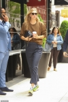 Maria Sharapova rocks a low-key knit on NYC outing with millionaire boyfriend Alexander Gilkes...