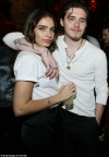 Brooklyn Beckham and Hana Cross put on a very cosy display at A-list hotspot