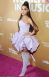 Ariana Grande apologises after homophobic protest took