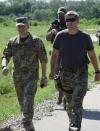 NSDC delegation visits frontline in Donbas