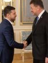 Zelensky, Lajčák discuss ceasefire and return of peace to Donbas