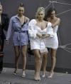 Love Island's Ellie Brown slips into figure-hugging white mini dress