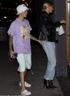 Justin Bieber puts on a loved-up display with wife Hailey as they head to couples massage in LA...