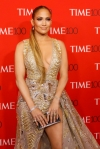 Jennifer Lopez is jaw-dropping in plunging champagne gown