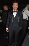 British Fashion Awards 2019: Tom Cruise looks typically dapper in a black tuxedo