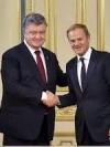 Poroshenko, Tusk discuss peacekeepers in Donbas