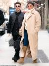 Nick Jonas and Priyanka Chopra look chic in their winter best as they leave