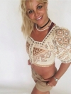 Britney Spears gushes about chic Moroccan top as she shares another smiley selfie series...