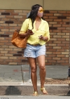RHOBH star Garcelle Beauvais puts on a leggy show in distressed Daisy Dukes