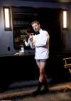 Jimmy Kimmel enjoys a martini in his boxers as he prepares to host 2020's