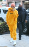 Justin Bieber steps out in all-Drew House ensemble as he makes his way to rehearsal