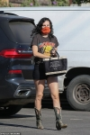 Rumer Willis visits LA nail salon... after performing in Rocky Horror Picture Show benefit