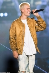 Accident-prone Justin Bieber slips and suffers ANOTHER embarrassing