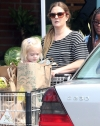Drew Barrymore grabs groceries with daughter Frankie as it's revealed she's in talks