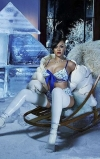 Rihanna flashes underboob in Savage X Fenty's 'Icy' campaign...
