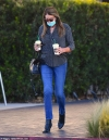 Caitlyn Jenner cuts a chic figure as she kicks off the week by fetching coffee