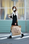 Katie Holmes treats herself to 'me time' as she goes shopping and grabs