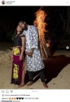 Gabrielle Union celebrates her husband Dwyane Wade's 39th birthday with a bonfire