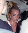 Britney Spears struggles to keep her eyes open as she cuts an exhausted figure