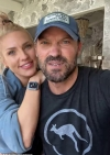 Brian Austin Green and Sharna Burgess look blissfully happy together in Instagram selfie