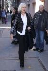Helen Mirren looks super-sleek in monochrome ensemble as she steps out in New York...