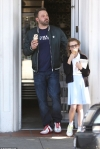 Ben Affleck enjoys ice cream date with daughter Violet