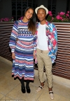 Pharrell Williams shares photo of matching Adidas shoes for his triplets