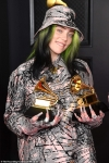 Billie Eilish shows off her blonde hair again... after the post debuting her new hair color
