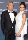 Katharine McPhee says her husband David Foster is 'annoyed' with her for revealing